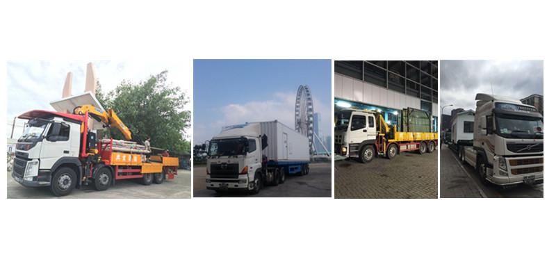 中港吊机车,香港吊机车,中港吊臂车,香港吊机车运输