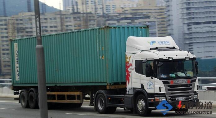 柜车运输,香港柜车,中港柜车,国内到香港柜车