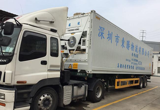 中港冷藏车,香港冷藏车,中港冷冻车,香港冷冻车,中港车行,东胜物流