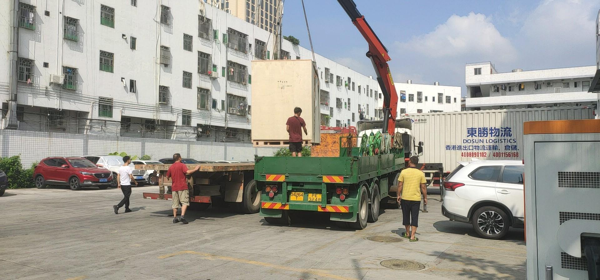 大件货物运输香港,大件物流到香港,东胜物流