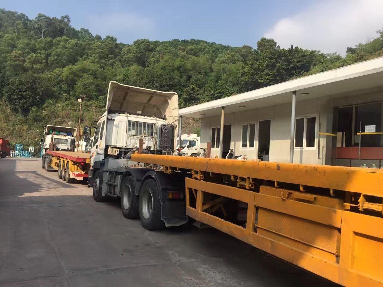 中港平板车,香港平板车,中港平板车中港矮排车运输,香港伸缩排,超长货物运输就找东胜物流